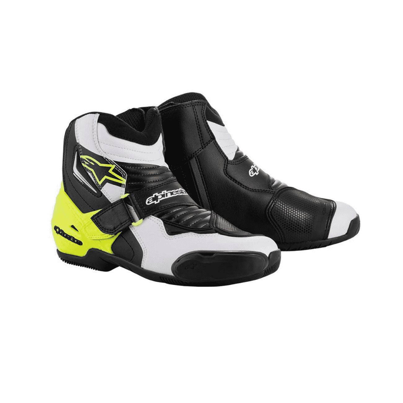 /Botas de Moto SMX S Negro Blanco/ Alpinestars/ /41