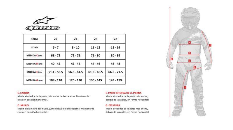 Socopur Motorsports - PANTALÓN NIÑO RACER TACTICAL 20 1