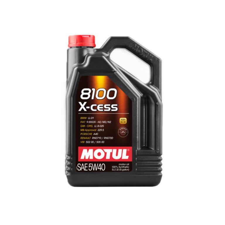 8100 ACEITE MOTOR X-CESS 5W40 5L FS
