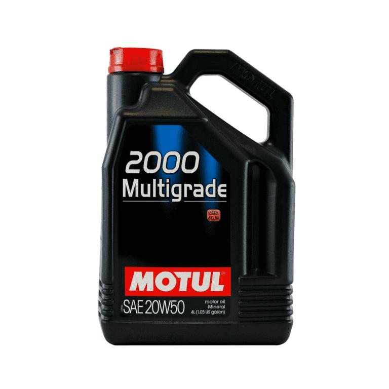 2000 ACEITE MOTOR MULTIGRADE 20W50 4L MI
