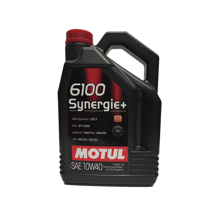 6100 ACEITE MOTOR SYNERGIE+ 10W40 4L TS