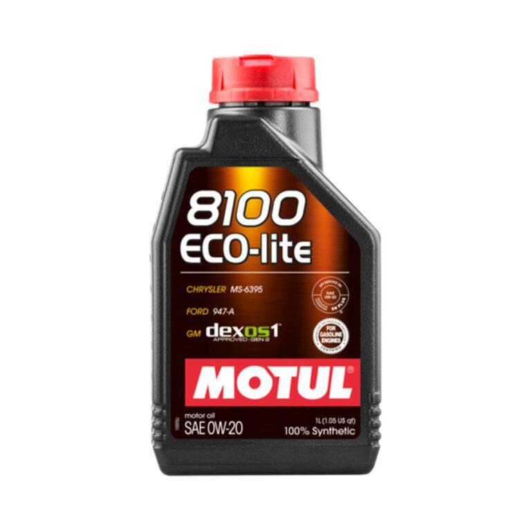 8100 ACEITE MOTOR ECO LITE 0W20 1L FS