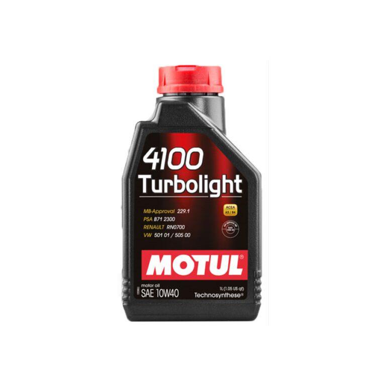 4100 ACEITE MOTOR TURBOLIGHT 10W40 1L TS