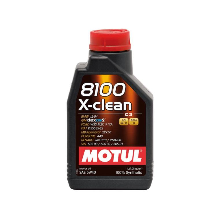 8100 ACEITE MOTOR X-CLEAN 5W40 1L FS
