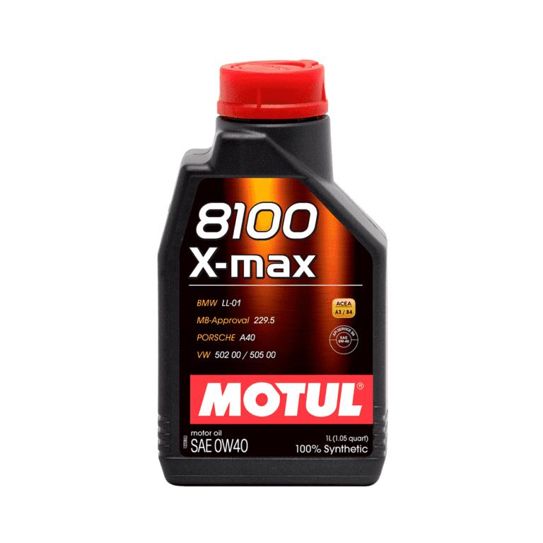 8100 ACEITE MOTOR X_MAX 0W40 1L