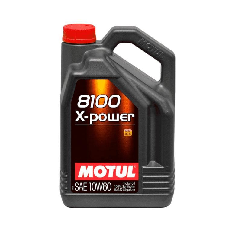 8100 X-POWER ACEITE MOTOR 10W60 5L FS