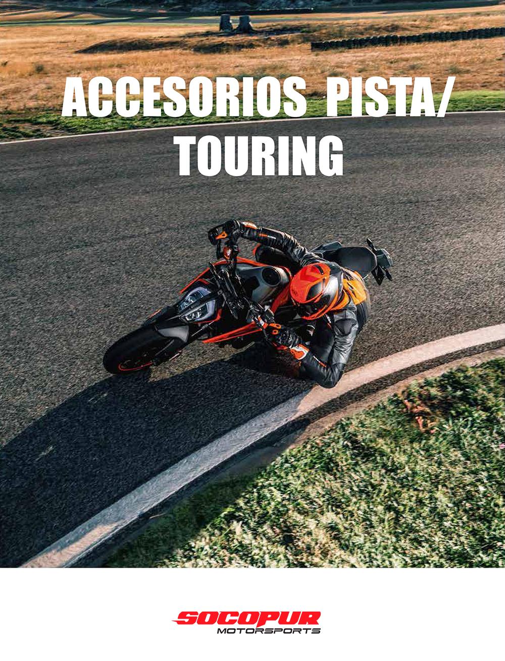 ACCESORIOS PISTA/TOURING