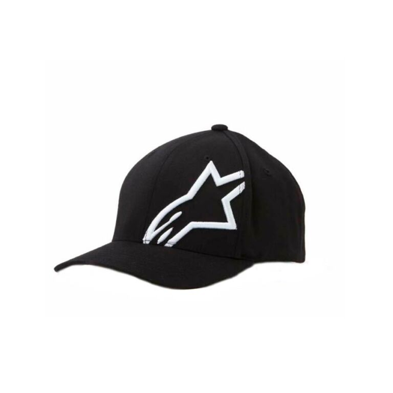 GORRO CORP SHIFT 2 CURVED NEGRO/BLANCO