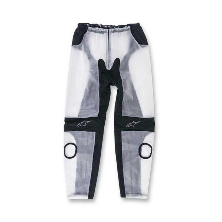 PANTALON IMPERMEABLE RACING TRANSPARENTE