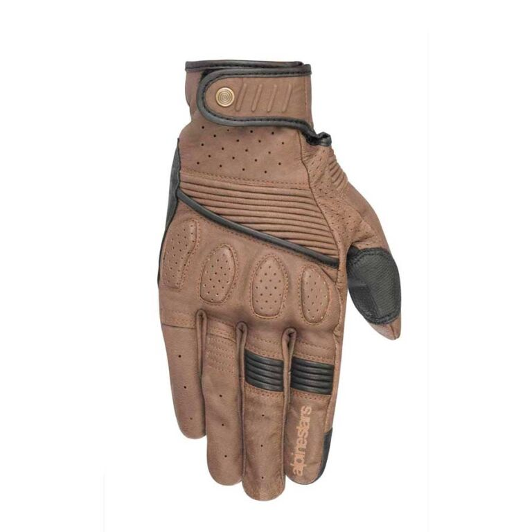 GUANTES CRAZY EIGHT MARRON/NEGRO