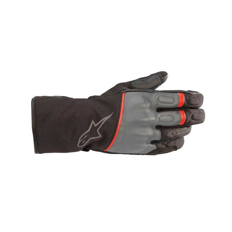 GUANTES STRIVER DRYSTAR NEGRO/GRIS