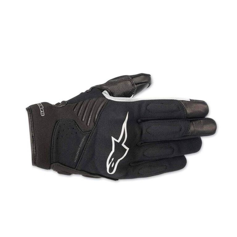 GUANTES FASTER NEGRO/BLANCO