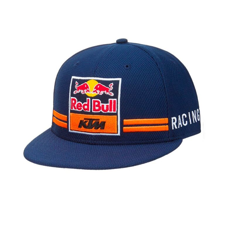 GORRO TEAM KTM-RED BULL AZUL/ANARANJADO