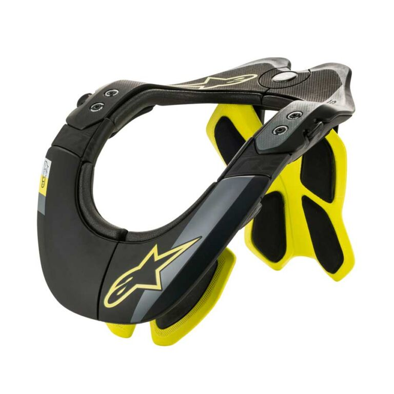 PROTECT. CUELLO BNS TECH 2 NEGRO/AMARILLO