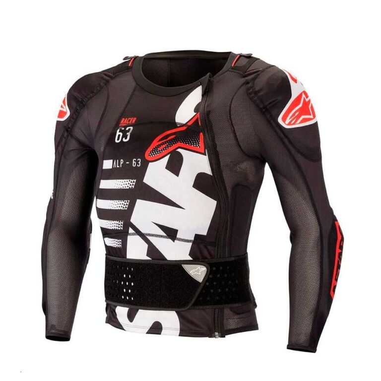 BODY ARMOR SEQUENCE NEGRO/BLANCO/ROJO