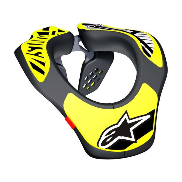 PROTECT. CUELLO SUPPORT NEGRO/AMARILLO
