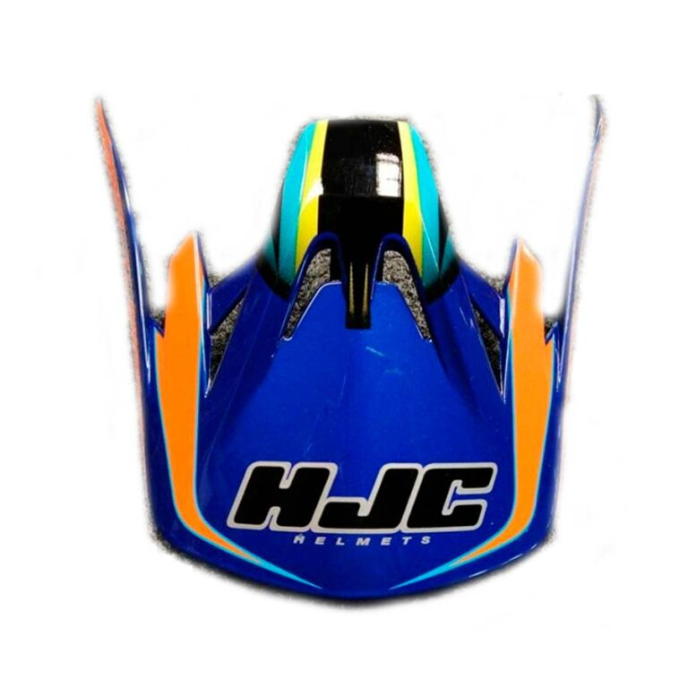 VISERA CASCO CS-MX SHATTERED AZUL