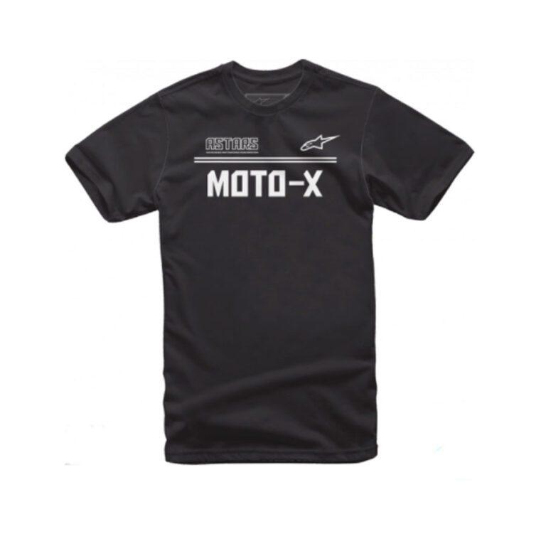POLO ASTARS MOTO-X NEGRO/BLANCO T-M
