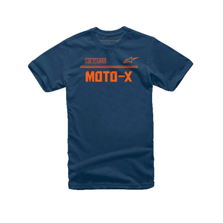 POLO ASTARS MOTO-X AZUL/ANARANJADO T-S