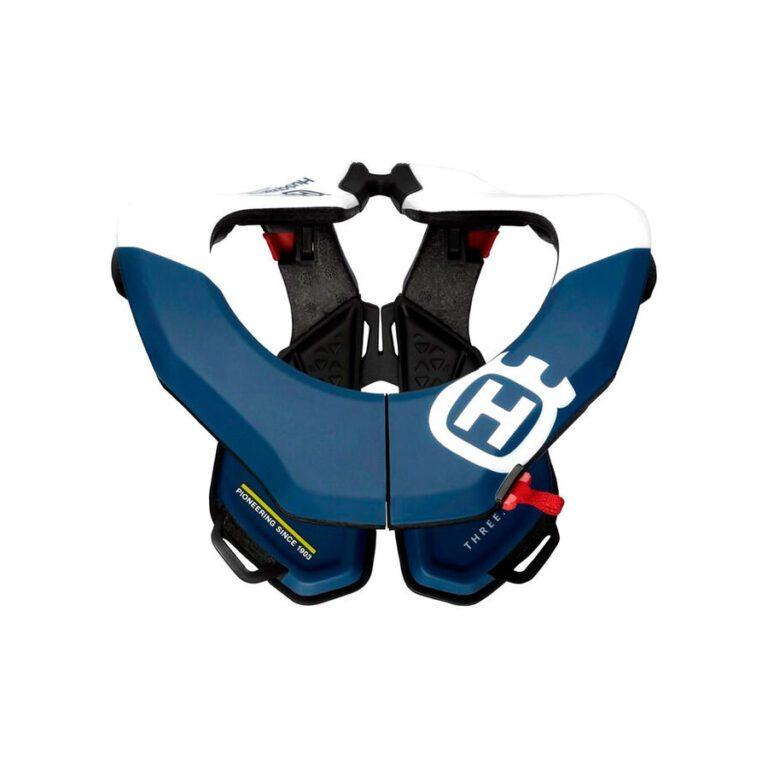 PROTECT. CUELLO GPX AZUL/BLANCO  T-L/XL 20