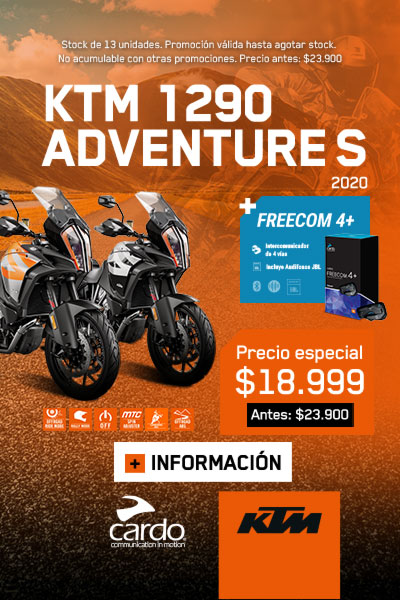 KTM 1290 ADVENTURE S 2020