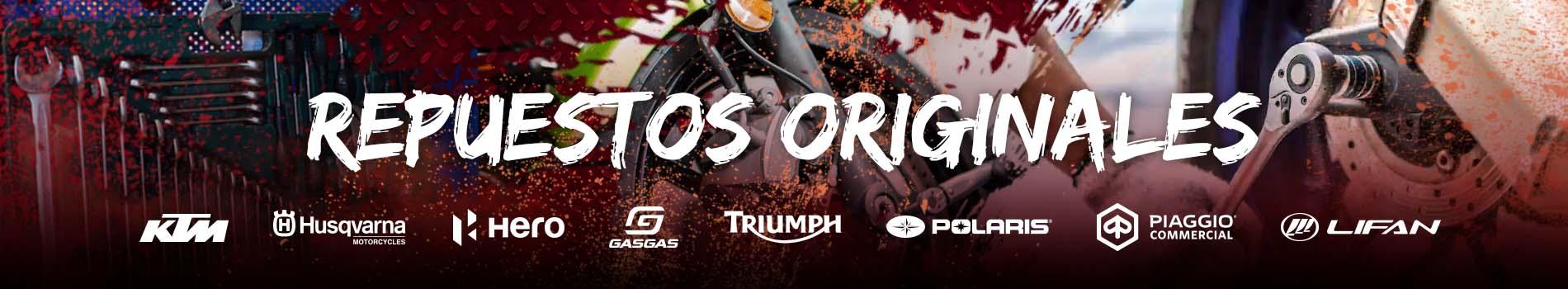 Socopur Motorsports - Venta de Repuestos Originales 1