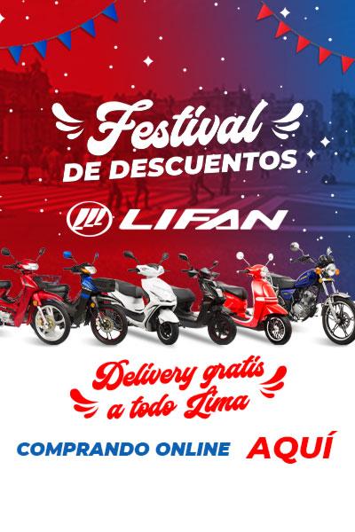 Festival de descuentos Lifan Online