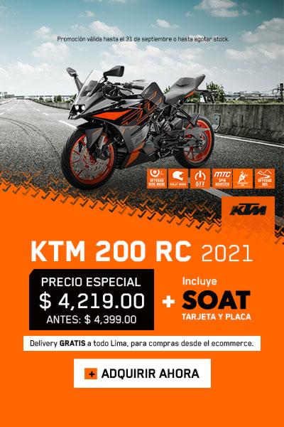KTM RC 200 2021