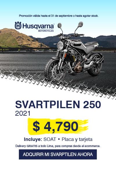 SVARTPILEN 250 2021