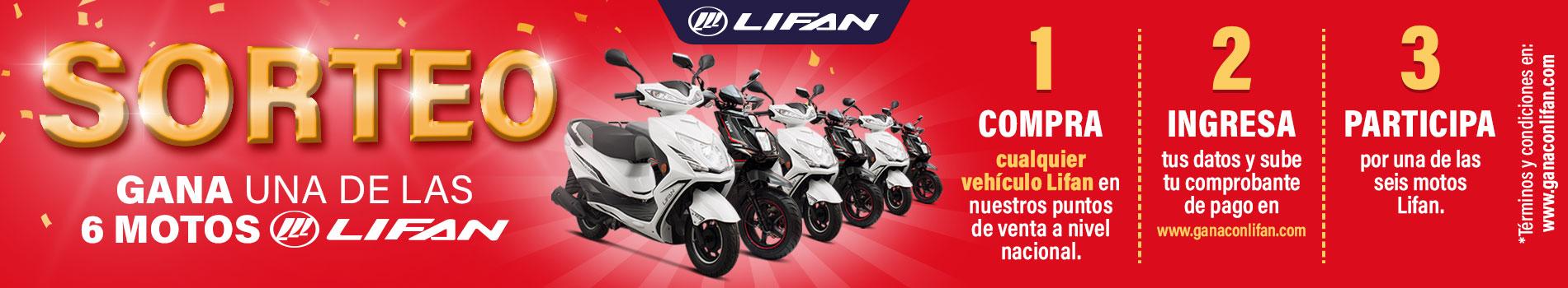 Socopur Motorsports - Gana con Lifan 1